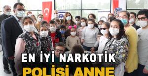 """Antalya'da """"En İyi Narkotik Polisi Anne"""" projesi tanıtıldı"""