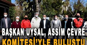 Başkan Uysal, ASSİM Çevre Komitesi'yle...