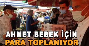 Başkan Yiğit,  Ahmet Bebek için para topladı