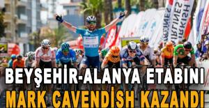 Beyşehir-Alanya etabını Mark Cavendish...