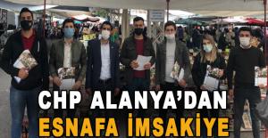 CHP Alanya'dan esnafa imsakiye