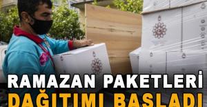 Ramazan paketleri dağıtımı başladı