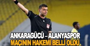 Ankaragücü – Alanyaspor maçının hakemi belli oldu