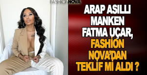 Arap asıllı manken Fatma Uçar, Fashion...
