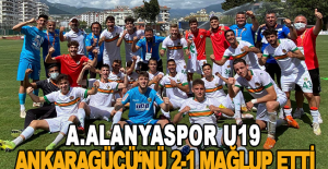 Aytemiz Alanyaspor U19 - MKE Ankaragücü U19: 2-1