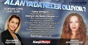Esin Kuzu Alanya#039;da Televizyon...