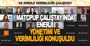 MatcpUp çalıştayında enerji yönetimi ve verimliliği konuşuldu