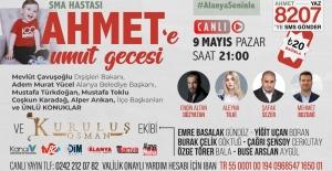 SMA Hastası Ahmet Bebek Umut Gecesi