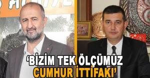 Türkdoğan: Bizim tek ölçümüz milletin bekası için oluşan Cumhur İttifakı