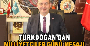 Türkdoğan'dan Milliyetçiler Günü Mesajı