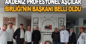 Akdeniz Profesyonel Aşçılar Birliği'nin başkanı belli oldu