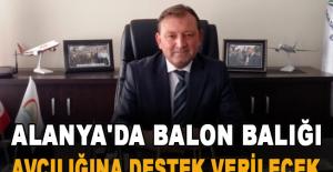 Alanya'da balon balığı avcılığına destek verilecek