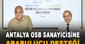 Antalya OSB sanayicisine arabulucu desteği
