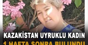 Antalya'da kayıp Kazak uyruklu kadın 1 hafta sonra bulundu