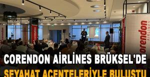 Corendon Airlines, Brüksel#039;de...