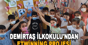 Demirtaş İlkokulu'ndan eTwinning projesi