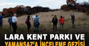 Kent Konseyi'nden Lara Kent Parkı ve Yamansaz'a inceleme gezisi