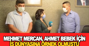 Mehmet Mercan, Ahmet Bebek için iş...