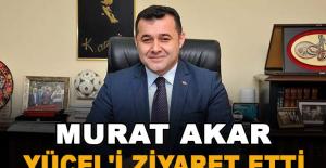 Murat Akar, Yücel'i ziyaret etti