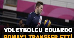 Perulu voleybolcu Eduardo Romay'ı transfer etti