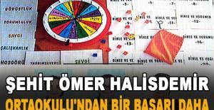 Şehit Ömer Halisdemir Ortaokulu'ndan bir başarı daha