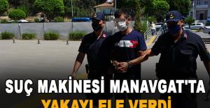 Suç makinesi Manavgat'ta yakayı ele verdi