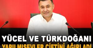 Yücel ve Türkdoğan, Yapılmışevler çiftini ağırladı