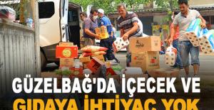 Adem Murat Yücel 'Güzelbağ'da içecek ve gıdaya ihtiyaç yok'