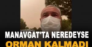 """ATSO Başkanı Çetin: """"Manavgat'ta neredeyse orman kalmadı"""""""
