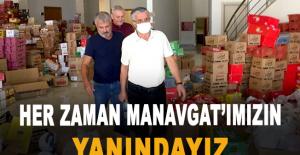 """Başkan Topaloğlu: """"Her zaman Manavgat'ımızın..."""