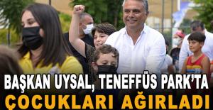 Başkan Uysal, Teneffüs Park'ta çocukları ağırladı
