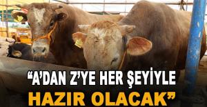 Başkan Yücel vatandaşlara 'sabit hayvan pazarı' müjdesi verdi