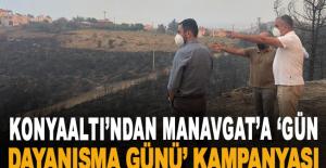 Konyaaltı'ndan Manavgat'a 'Gün dayanışma...
