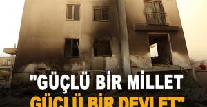"""Tütüncü: """"Manavgat'ın yaralarını birlikte saracağız"""""""