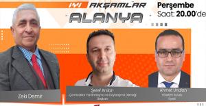Zeki Demir'le 'İyi Akşamlar Alanya' Yarın Alanya Medya'da