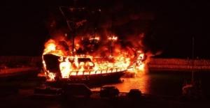 Alanya'da Kaymakamdan tekne yangınlarıyla ilgili açıklama