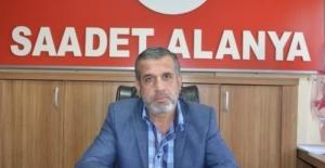 Alanya Saadet'in gündemi kuraklık ve yangın