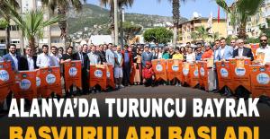 Alanya'da turuncu bayrak başvuruları başladı