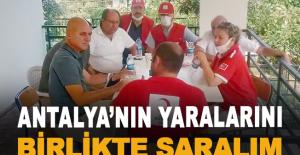 """Başkan Bahar: """"Antalya'nın yaralarını birlikte saralım"""""""