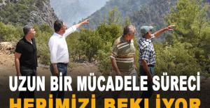 """Başkan Uysal: """"Uzun bir mücadele süreci hepimizi bekliyor"""""""