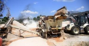 Demirtaş'ta asfalt çalışmaları başladı