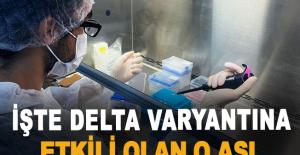 İşte Delta Varyantına Etkili Olan O Aşı