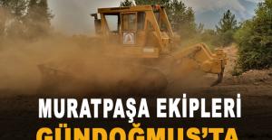 Muratpaşa ekipleri Gündoğmuş'ta