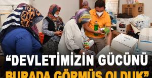 """Sancaktepe Belediye Başkanı Döğücü """"Devletimizin gücünü burada görmüş olduk"""""""