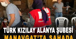 Türk Kızılay Alanya Şubesi Manavgat#039;ta...