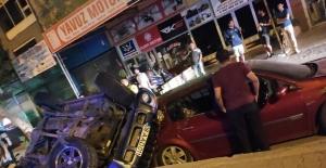 Alanya'da aşırı hız kaza getirdi!