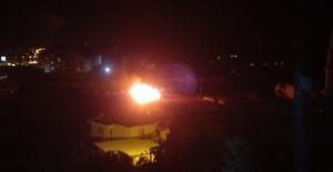 Alanya'da çalılık yangını söndürüldü