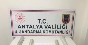 Antalya'da jandarmadan zenginleştirilmiş...