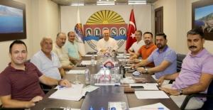 MÜTBİR'den Başkan Şahin'e destek ziyareti